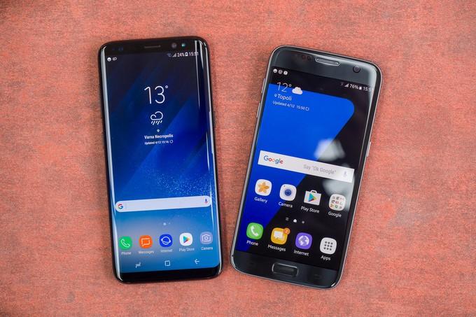 Galaxy S8 Plus Yeni Güncellemesini Yayınladı