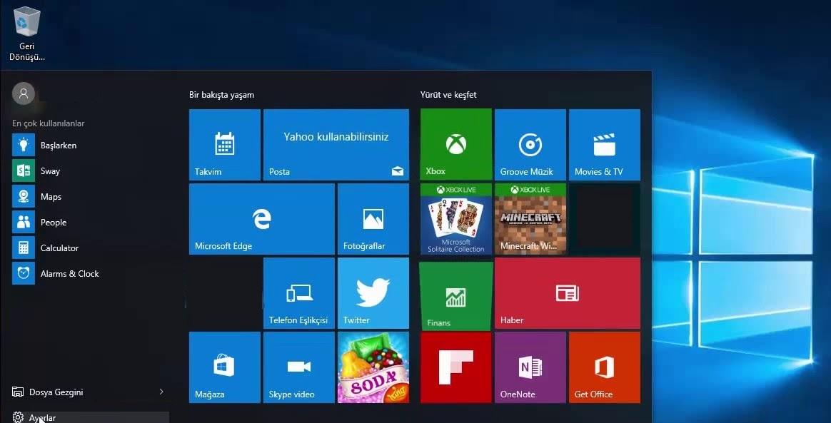 Windows 10 yeni kullanıcı açma