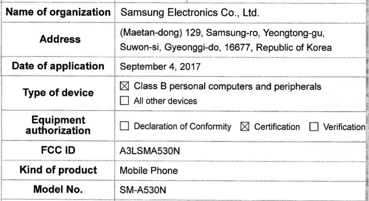 Galaxy A5 2018 bilgileri internete sızdı