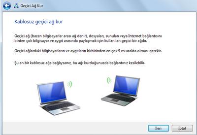 Windows 10 iki bilgisayarı birbirine bağlama