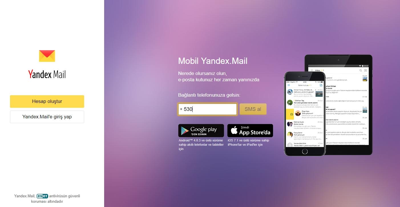 Yandex şirket e-posta kurulumu ve uygulaması