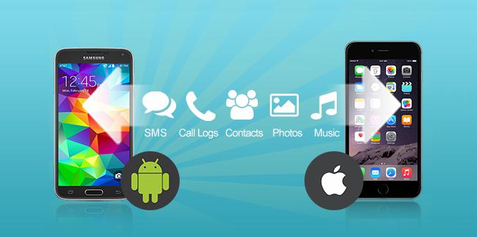 iPhone verileri Android telefona aktarma