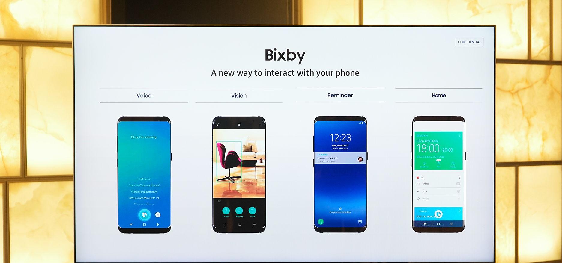 Bixby kapatma ayarları