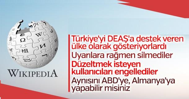 Wikipedia Türkiye' yi özledik kampanyası