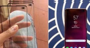 Galaxy S10 delgeç ekranı