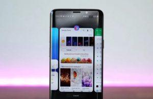Samsung Android 9 güncellemesi