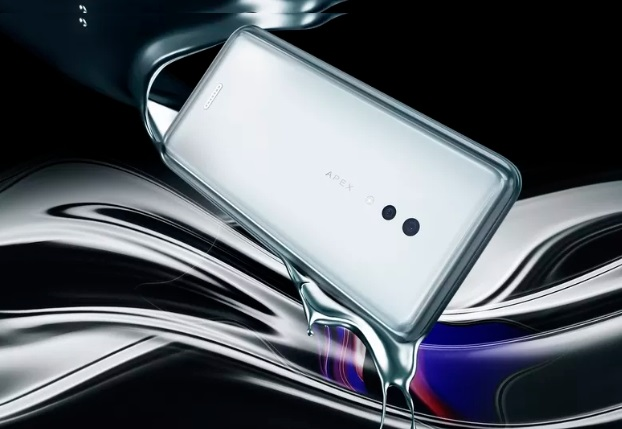 Vivo Apex 5G tam ekran parmak izi sensörlü ve 12GB RAM